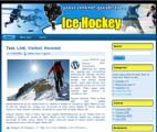 Ice Hockey Wordpress Template